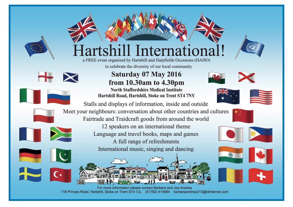 Hartshill International Flyer