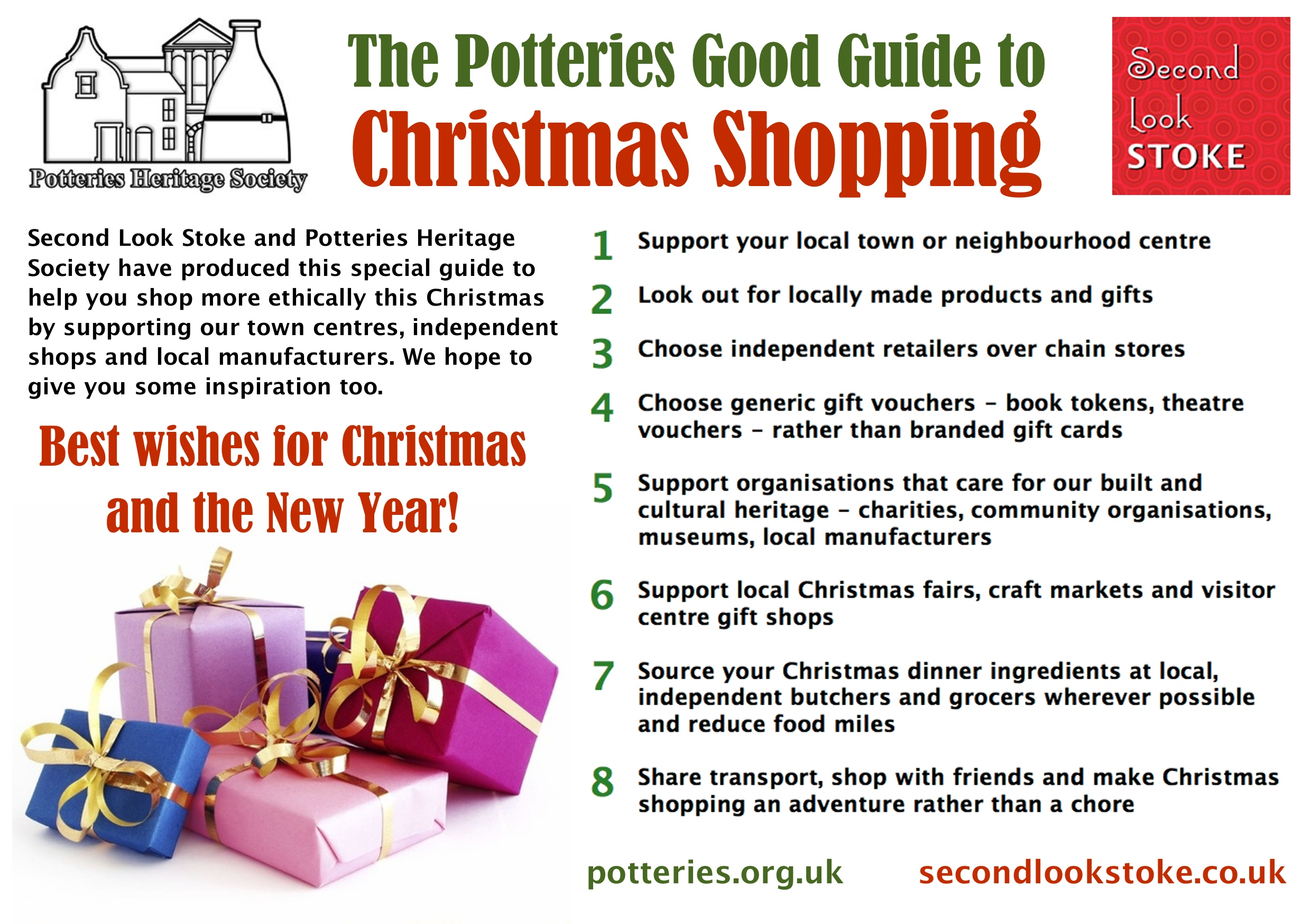 Potteries Good Guide to Christmas Shopping